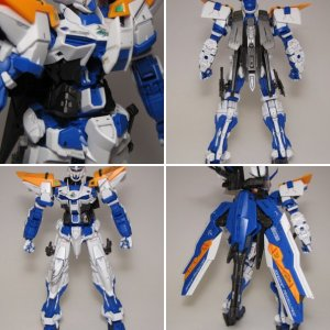 Gundam Astray Blue Frame Second Revise