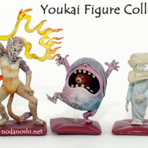 youkai figure collection