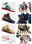 Нажмите на изображение для увеличения Название: don t make me dance all night alone  Nike x Gundam RX 78 2 Gundam RX 178 Gundam Mk II... .jpg Просмотров: 88 Размер:260.3 Кб ID:42018